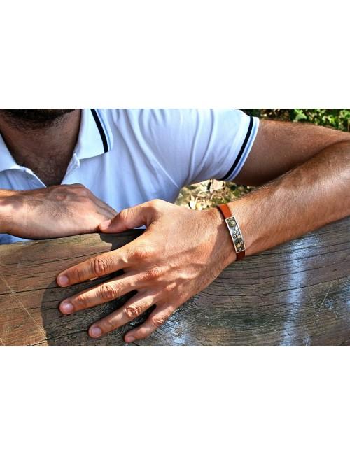 Bracelet homme rouages