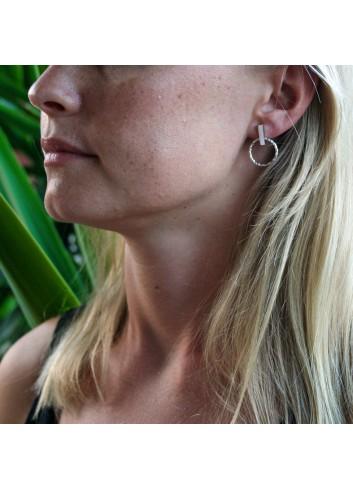 Boucles d'oreilles chic