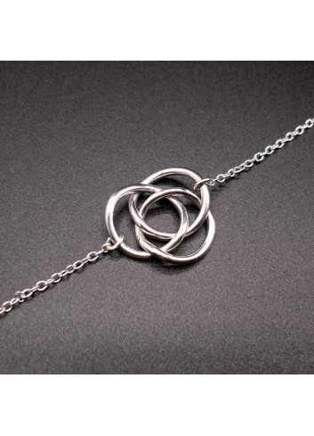 Bracelet anneaux de Borromée
