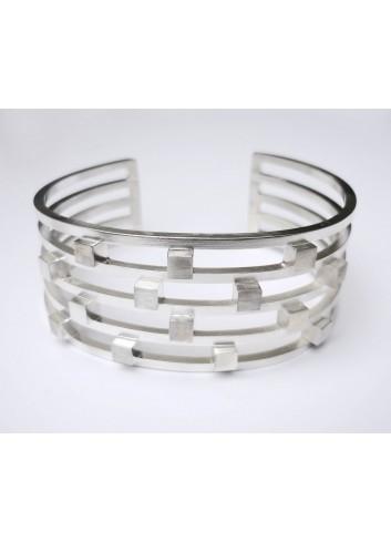 Bracelet Cubes manchette